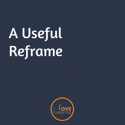 A Useful Reframe