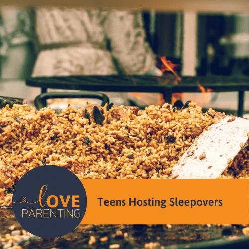 Teens Hosting Sleepovers